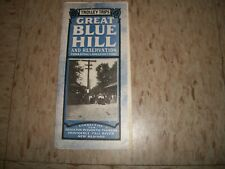 1907 BY TROLLEY TRIPS Great Blue Hill Reservation Boston MA Blue Hill Street RR