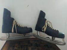 Vintage American Wildcat National Pro Model Ice Skates Size 10