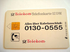 PHONECARD TELECARTE TELEKOM TELEFONKARTE