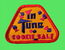 COOKIE SALE Patch, In Tune Music NEW Girl Scout Badge NO DATE-Use Anytime
