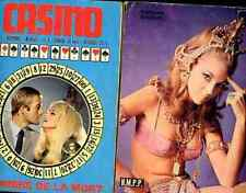 CASINO 1 1960s BARBARA BOUCHET photo roman novel sexy Fotoromanzi ciné aventure