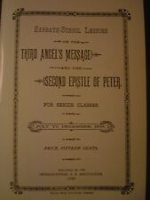 1888 Pioneer Sabbath School Lesson~Third Angel's Message~Epistle of 2nd Peter