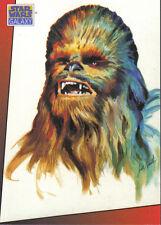 STAR WARS GALAXY SERIES 1 JUST TOYS BEND-EM PROMOTIONAL CARD F