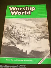 WARSHIP WORLD - SUMMER 1986 - RFA ARGUS