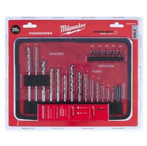 Milwaukee 4932464072 Accessory Roll Mat 20 piece Set Thunderweb Shockwave Impact