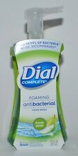 DIAL COMPLETE FRESH PEAR FOAMING HAND SOAP WASH ANTIBACTERIA 7.5OZ FOAM