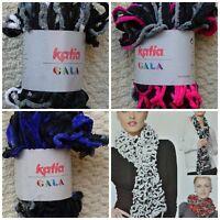 Scarf Yarn 100g Gala Chenille Ruffle Scarf Yarn Knitting Wool Yarn Katia