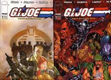GI Joe Front Line 1,1A-18 + G.I. Joe 35 Previews EXCLUSIVE Variant FREE USA SHIP