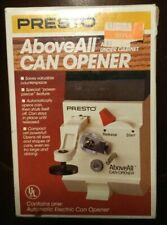Presto Above All Under Cabinet Automatic Electric Can Opener 05601 20-953