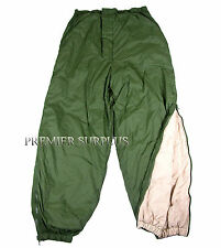 Genuine British Army Thermal Reversible Softie Trousers, Size Large, NEW
