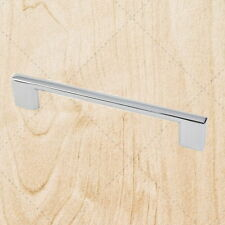 Kitchen Cabinet Hardware Square Bar Pulls ps35 Polished Chrome 128mm CC Handle