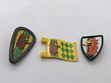 Playmobil Red Eagle Flag Shields Spare Parts Bird Knight Army Castle Extras Toy