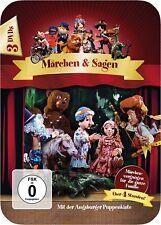 Augsburger Puppenkiste - Märchen und Sagen - Steelbox - (3 DVDs)
