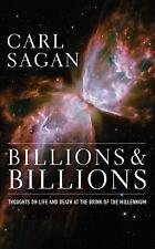 BILLIONS AND BILLIONS unabridged audio book on CD by CARL SAGAN - Brand New!