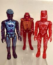 Vintage Tron Tomy 1981 Figure Lot