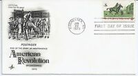 US Scott #1478, First Day Cover 6/22/73 Rochester Single American Revolution