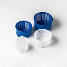 Cheese making Cheese molds Set 0.55-2.60lbs Goat cheese Milk Rennet cheesemaking