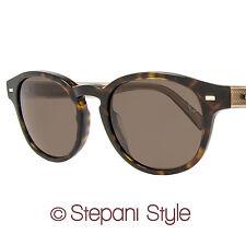 Ermenegildo Zegna Oval Sunglasses EZ0029 52J Havana 29