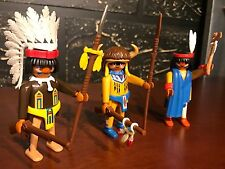 Playmobil 7659 - Three Indian Warriors Set - Build Your Armies - NO BOX!!