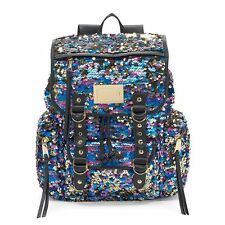 NWT Juicy Couture Large Multi Sequined Backpack