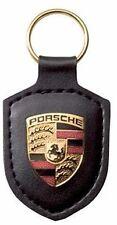 GENUINE PORSCHE KEYRING BLACK 911 CAYMAN BOXSTER CAYENNE NEW 997 968 996 993 964