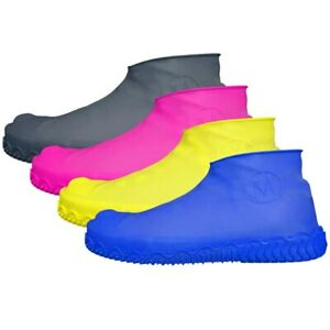 Unisex Waterproof Protector Silicone Shoes Cover Rain Shoe Covers Anti-Slip
