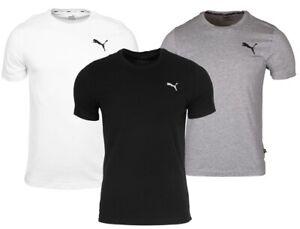 PUMA Herren T-Shirt ESS Small Logo Tee Fitness Training Sport