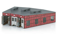 Märklin H0 72886 Bausatz Lokomotivschuppen (Passend zu 74861 + 66861) NEU + OVP