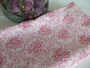 Vintage German  Pillowcase Cover   White + Red Flowers german 29 inch by 28 inch