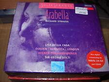 SOLTI / DELLA CASA / STRAUSS arabella - 2 cd box set - SEALED / NEW -