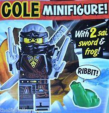 LEGO NINJAGO Limited Edition COLE Mini Figure new sealed pack