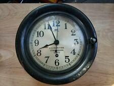Vintage Seth Thomas U.S. Maritime Commission 13075 Wall Clock (Pre-Owned)