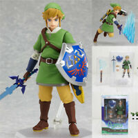 The Legend of Zelda: Skyward Sword Link Action Figure Figma 153 Toy With Box