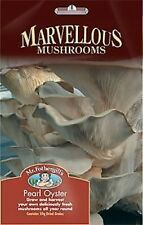 Pearl Oyster Mushroom Seeds Spores. DIY Grow Your Own. Yields Minimum 1kg