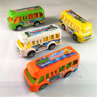 Plastic School Bus Kids Toys American Student Pull Back Kids Gifts Toys cc