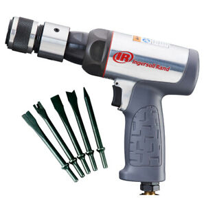Ingersoll Rand 123MAXK Vibration Reduced Round Barrel Air Hammer Kit w/ Chisels