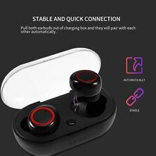 Bluetooth 5.0 Headset TWS Wireless Earphones Twins Earbuds Stereo Headphones US