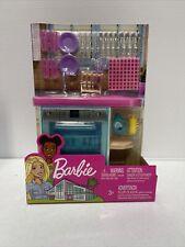 Barbie Indoor Furniture Set KITCHEN DISHWASHER + Accessories Pack  New