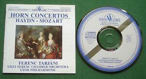Haydn / Mozart Horn Concertos Ferenc Tarjani CD