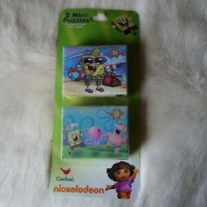 SPONGE BOB PUZZLE Patrick Puzzle 2 Mini PUZZLES Spongebob Squarepants Puzzle