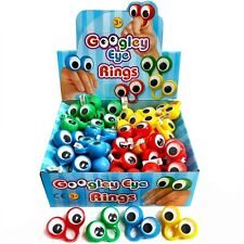 Box of 60 Finger Spies Rings - Instant Hand Puppets - Wholesale Childrens Toys
