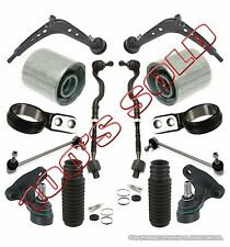 Control Arms Ball Joints Bushing Tie Rods Rack Boot for BMW E46 325Xi 330Xi 14pc