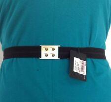 Elastic Medium Width Belts for Women