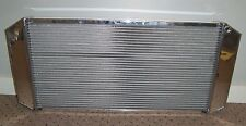 BRAND NEW BE COOL 60154 POLISHED ALUMINUM RADIATOR CUSTOM FIT CROSSFLOW 34X15