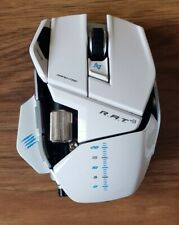 Mad Catz R.A.T.9 transform mouse Wireless Laser  WHITE!! AUTHENTIC!!