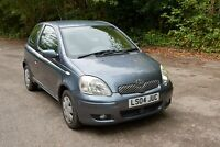 2004 Toyota Yaris 1.0 VVT-i 3dr HATCHBACK Petrol Manual