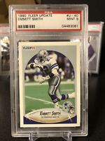 ⭐️1990 Fleer Update Emmitt Smith #U-40 PSA 9 MINT Dallas Cowboys HOF