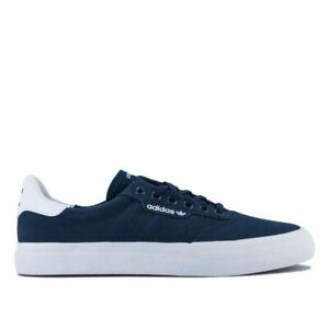 Men's adidas Originals 3MC Lace up Cushioned Nubuck Leather Trainers in Blue