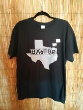 f5a78872e Baylor Bears Black T Shirt Texas State in Colosseum Gray Short Sleeve Size L