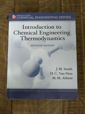 Introduction to Chemical Engineering Thermodynamics Van Ness Smith Abbott 7th Ed